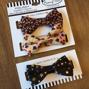 3 Holiday Bow Ties